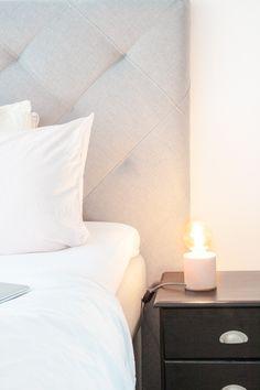 Retro-Nachttischlampe mit Betonsockel und Edisson-Glühbirne ist heute im Blog :-)