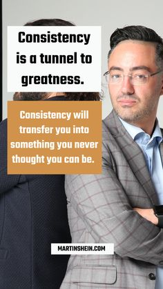 Consistency is a tunnel to greatness. Consistency will transfer you into something you never thought you can be. You Never, Consistency, Mindset, Leadership, Coaching, Entrepreneur, Success, Thoughts, Motivation
