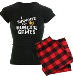 I Survived Hunger Games PJ's!! i NEED these!!!!!