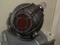 How to make a Big Sister helmet.  I think I know what my Halloween costume will be this year.