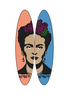 7th personal wave surfboard designs, using online vectors