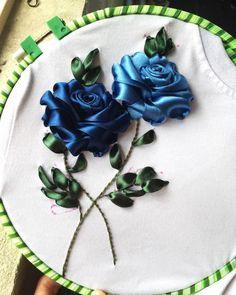 Furniture Silk ribbon embroidery dress, Silk ribbon embroidery embellishments, Silk ribbon embroidery for beginners, Silk ribbon embroidery hoop, Silk ribbon embroidery idea Ribbon Embroidery Tutorial, Embroidery Flowers Pattern, Embroidery Patterns Free, Hand Embroidery Stitches, Silk Ribbon Embroidery, Embroidery For Beginners, Hand Embroidery Designs, Embroidery Dress, Embroidery Techniques