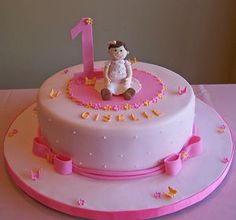 easy girl birthday cake ideas How To Make 1st Birthday Cakes For