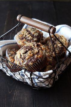 Chocolate Coffee Toffee Muffins.
