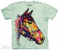 Funky Horse T-Shirt - $18.95 - The perfect shirt for an equine lover! Colorful and fun.