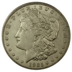 1921 ~ last year of Morgan Silver Dollars - Pure Silver - Beautiful Silver Design and Shine - Authenticated by Professionals - Favorite amongst investors - Continually increasing in value - Guaranteed to Grade Well - Security Features in Rare Coins Worth Money, Valuable Coins, Antique Coins, Old Coins, Coin Display, Coin Worth, Gold And Silver Coins, Coin Values, Gold Bullion