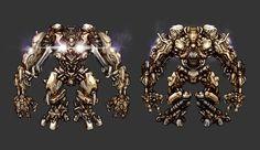 Robot design by Panda-Graphics.deviantart.com on @DeviantArt