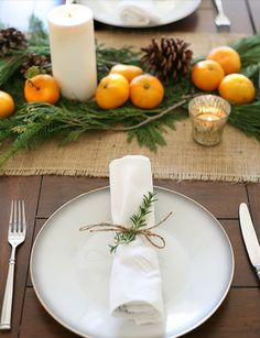 Simple Christmas Centerpieces | Pinterest | Greenery, Glass votive ...