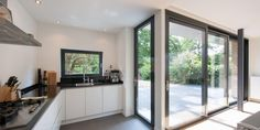 Glass Extension, House Extensions, Home Reno, Home Kitchens, Bungalow, Sweet Home, New Homes, House Design, Living Room