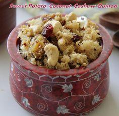 Great-Secret-Of-Life: Sweet Potato Coconut Cashew Quinoa Bowl