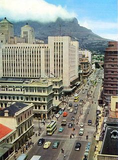 High resolution photos and images in picture galleries all around Cape Town and South Africa Cape Town South Africa, Back In Time, Main Street, New York Skyline, Maine, Times Square, History, Places, Pictures