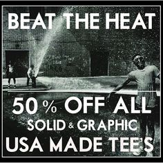 BEAT THE HEAT!  50% off all solid and graphic USA made tee's.  #byrobertjames #dapper #style #men #menswearblogger #menswearblog #menswearstyle #mensstyle #styleguide #mensstyles #mensfashion #nyc #mensfashionpost #mensfashionblog #fashion #fashionblogger #fashionable #fashionblog #localdesigner #fashionaddict #fashiondesign #fashionbloggers #brj #madeusa #madenyc #williamsburg #les #lowereastside #simplehonesthandsome