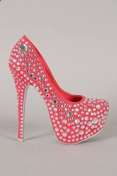 SOOO SPRAKLEY , High Fashion High Heels Shoes.....