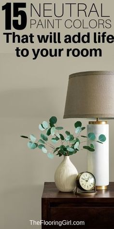 15 Neutral paint colors, DIY and Crafts, These neutral paint shades will add life to your room and go with everything. Neutral Paint Colors, Best Paint Colors, Diy Organizer, House Painting, Diy Painting, Decorating Tips, Interior Decorating, Paint Paint, Paint Shades
