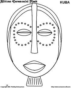 African Ceremonial Mask I. African Theme, African Masks, African Art Projects, Mask Drawing, African Sculptures, Kids Art Class, Zentangle, Circle Of Life, Marker Art
