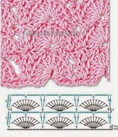 Watch This Video Beauteous Finished Make Crochet Look Like Knitting (the Waistcoat Stitch) Ideas. Amazing Make Crochet Look Like Knitting (the Waistcoat Stitch) Ideas. Crochet Diagram, Crochet Chart, Crochet Basics, Crochet Motif, Crochet Flowers, Free Crochet, Tunisian Crochet Stitches, Crochet Stitches Patterns, Stitch Patterns