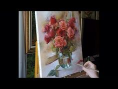 Process of creating oil painting from Oleg Buiko. Небольшой этюд - YouTube