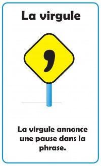 Affiches : La ponctuation