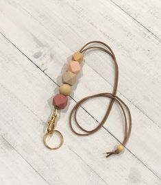 Leather keychain or lanyard perfect accessories to any outfit Flower Girl Headpiece, Flower Girl Crown, Things To Buy, Stuff To Buy, Lanyard Keychain, Keychains, Trendy Accessories, Leather Keychain, Handmade Flowers