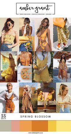Tendencias 2019  #FashionTrendsMoodboard