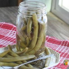 Dilly Beans Canning Recipe, Canning Pickles, Preserving Green Beans, Wheat Crackers, Can Green Beans, Canning Supplies, Relish Trays, Evening Snacks, Bean Recipes