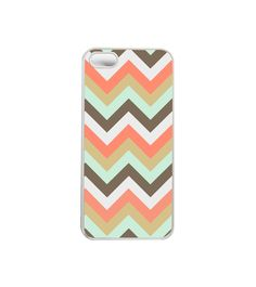iphone 5 Case Geometric Chevron - Phone Case for iPhone 4, iPhone 5, or Samsung. $16.99, via Etsy.