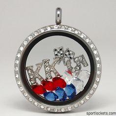 "Kasey Kahne ""5"" racing locket necklace – SportLockets.com"