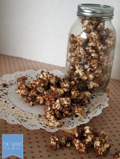 Hello chocolate (Reese's) and popcorn