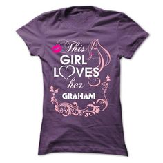 """t-shirts for you """" this girl loves her GRAHAM&quot - #gift for men #love gift. SECURE CHECKOUT => https://www.sunfrog.com/Valentines/t-shirts-for-you-quot-this-girl-loves-her-GRAHAMquot.html?68278"""