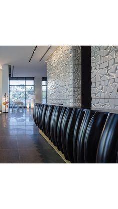 VERTIGO - Concrete Tiles. W-Prime Lobby. #studioitaibaron