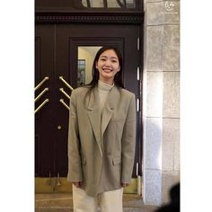Unisex Fashion, Girl Fashion, Fashion Outfits, Womens Fashion, Blazer Outfits, Fall Outfits, Casual Outfits, Kim Go Eun Style, My Style