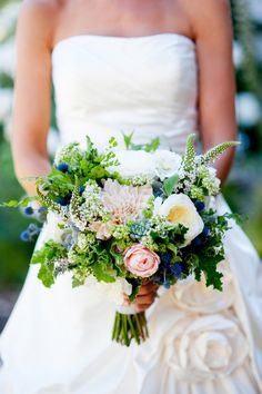 Bouquet inspo  Read more - http://www.stylemepretty.com/little-black-book-blog/2013/05/21/ojai-valley-inn-and-spa-wedding-from-kim-fox-photography/