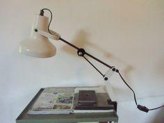 """Architekten Lampe """" Bruns """" 70er Jahre von susduett auf DaWanda.com"""
