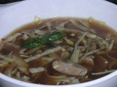 Thai Beef Soup - HCG Phase 2