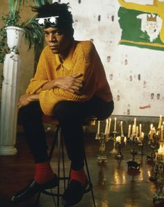 """Fire will attract more attention than any other cry for help."" —Jean-Michel Basquiat"