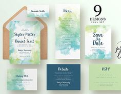 "Check out new work on my @Behance portfolio: ""Green Wedding Invitation Design"" http://be.net/gallery/47648009/Green-Wedding-Invitation-Design"