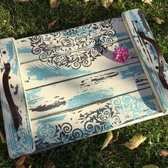 Podnos Decorative Boxes, Sweet Home, Table, Christmas, Furniture, Home Decor, Painted Tables, Trays, Xmas