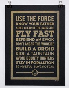 What I learned from Star Wars.