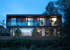 "Hampstead home designed to evoke ""the spirit of a tree house""."