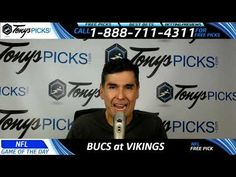 Tampa Bay Buccaneers vs. Minnesota Vikings Free NFL Football Picks and P...