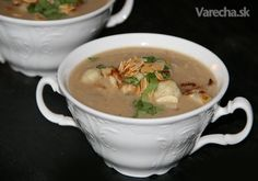 Marocká karfiolová polievka (fotorecept) Food Art, Food And Drink, Tableware, Ethnic Recipes, Soups, Dinnerware, Tablewares, Soup, Dishes