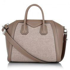 Givenchy Tasche – Antigona Medium Bag Virgin Wool Sand – in braun – Henkeltasche für Damen