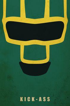 KICK-ASS 2 - 8 Minimalist Poster Art Designs - News - GeekTyrant