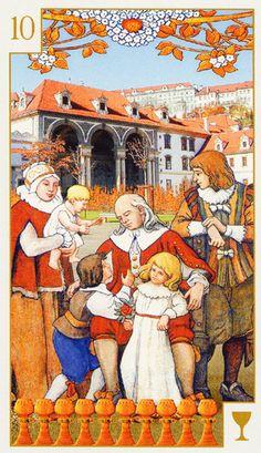 Tarot of Prague ► Ten of Cups