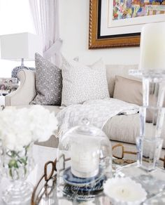 Living room styling. Coffee table styling | Classy Glam Living
