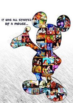 Walt Disney, Animation, Childhood