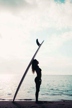 Sunset silhouettes #surfinginspiration