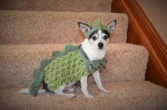 Ravelry: Small Dog Dragon Costume pattern by Stephany's Stitches