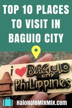 While Baguio has plenty to see and do, these are the top places to visit in Baguio that I recommend to get a flavor of the best that Baguio has to offer. Baguio Philippines, Visit Philippines, Philippines Travel, Tourist Map, Tourist Spots, Best Places To Travel, Cool Places To Visit, Singapore With Kids, Asia Travel