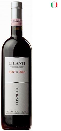 A cantina Bonacchi fica no coração das colinas de Montalbano, uma das oito denominações de Chianti. Destaca-se pela relação qualidade x custo de seus vinhos. Seus dois vinhos mais populares são o Montepulciano d'Abruzzo e o Chianti Gentilesco. Já seus três melhores tintos, o Brunello di Montalcino, o Chianti Riserva e o Badesco, são maturados em carvalhoSobre oChianti Gentilesco DOCG 750ml- Conteúdo: 750ml- Tipo:TintoElaboração- Casta:Sangiovese 85%, Canaiolo e Malvasia del Chianti…
